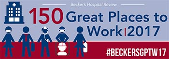SpineNevada recognized in Becker's Hospital Review's list of 150 Great Places to Work in Healthcare for Second Consecutive Year