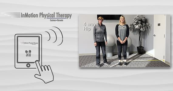inmotion physical therapy, remote physical therapy, improve function and return to active lifestyle