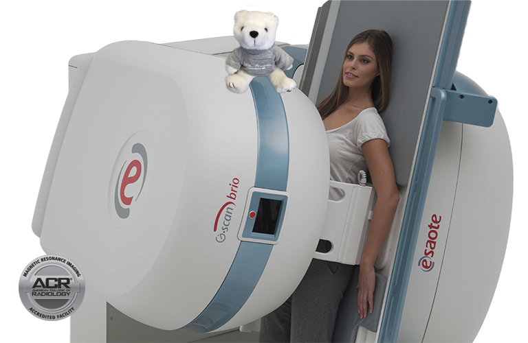 weight bearing mri, tiltable, specially designed for diagnostics of spine and musculoskeletal conditions