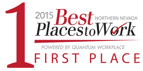 Best places to work northern nevada, reno tahoe, Best places to work, spine nevada, first place in best place to work, quantum workplace, northern nevada human resources association