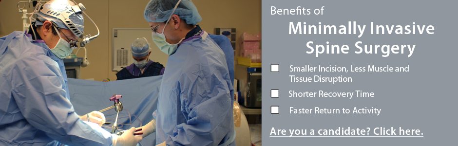 benefits of minimally invasive spine surgery Spine Nevada in Reno, Nevada, Sparks, Carson City