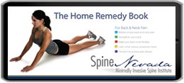 home remedies for back pain and neck pain, reno, carson city, sparks, nevada