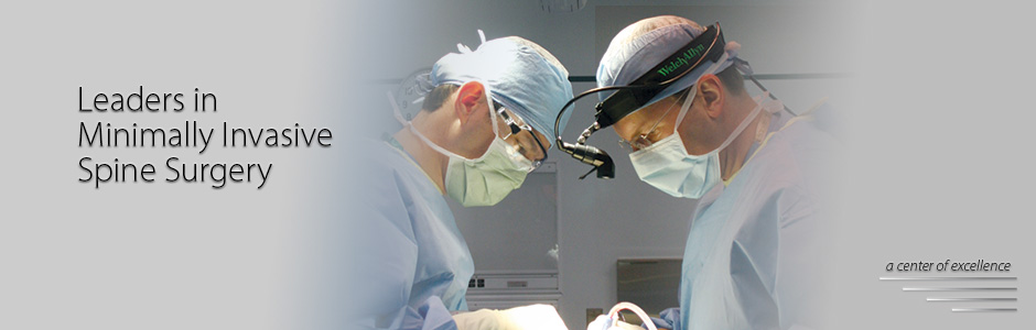 Minimally Invasive Spine surgery, neurosurgeons